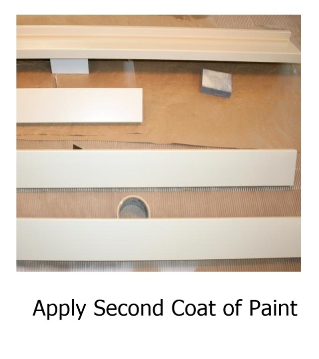 Apply Second Coat of Paint