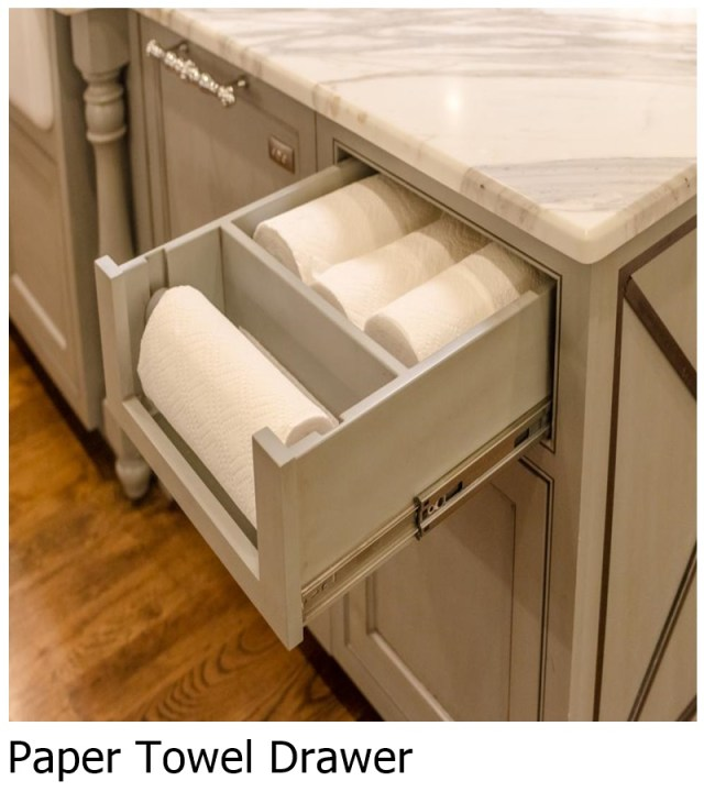 Paper Towel Drawer