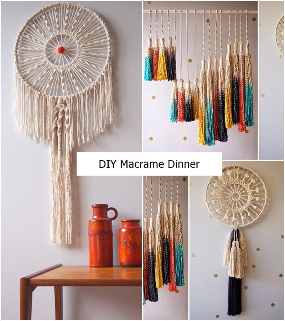 DIY Macrame Dinner