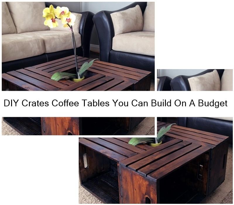 Diy Crates Coffee Tables You Can Build On A Budget Godiygo Com