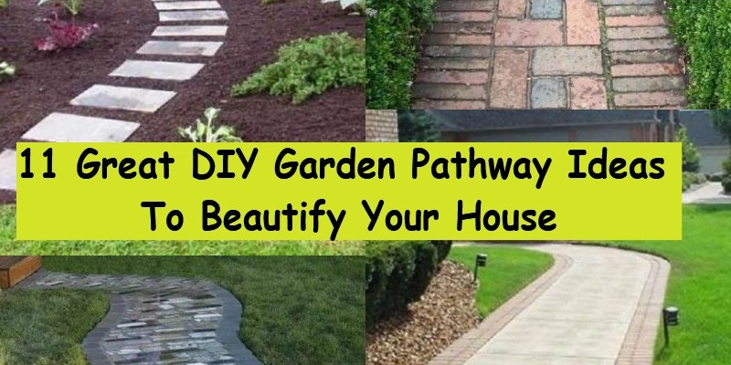 11 great garden pathway ideas