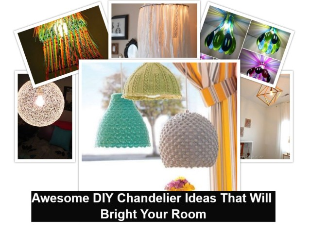 Awesome diy chandelier ideas that will bright your room