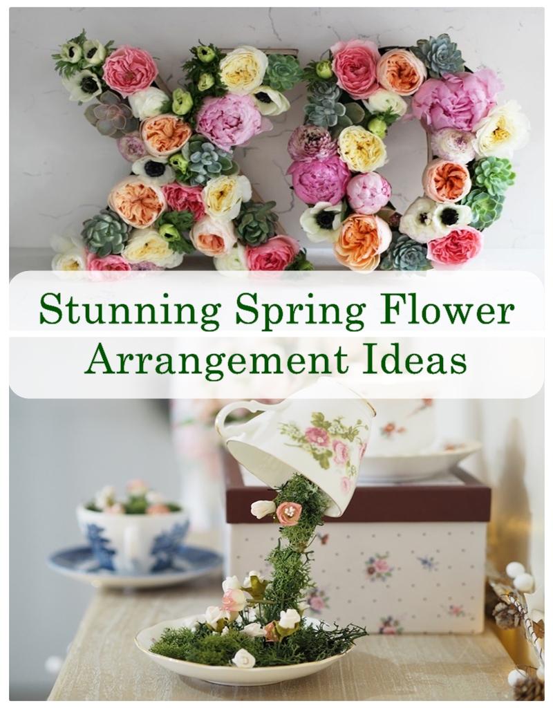 Stunning Spring Flower Arrangement Ideas Godiygo