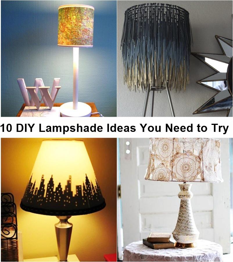 10 Diy Lampshade Ideas You Need To Try Godiygo Com