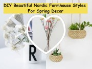Diy beautiful nordic farmhouse styles for spring decor(1)