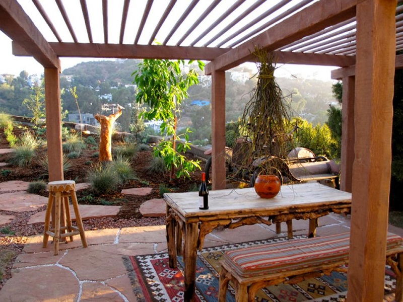 New mexico outdoor room