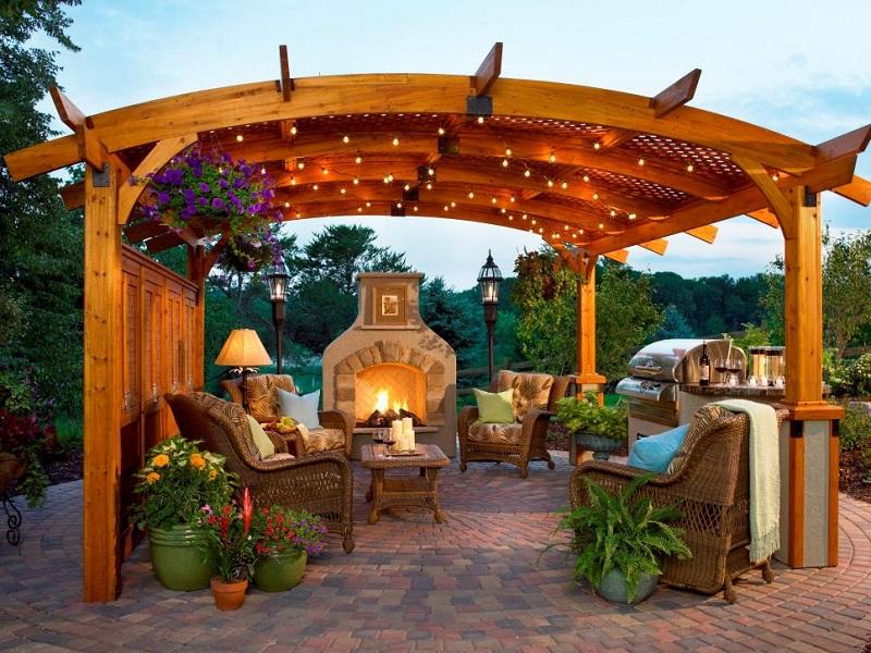 Outdoor great room