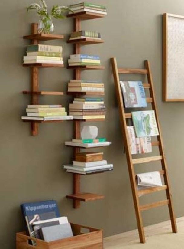 9 Diy Bookshelf Designs From Unused Items On Ideal