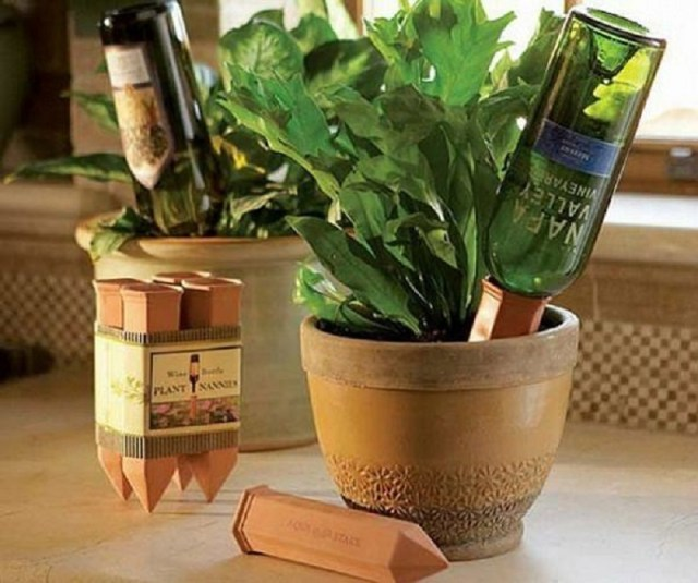Self watering planter