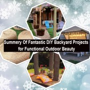 Summery of fantastic diy backyard projects for functional outdoor beauty