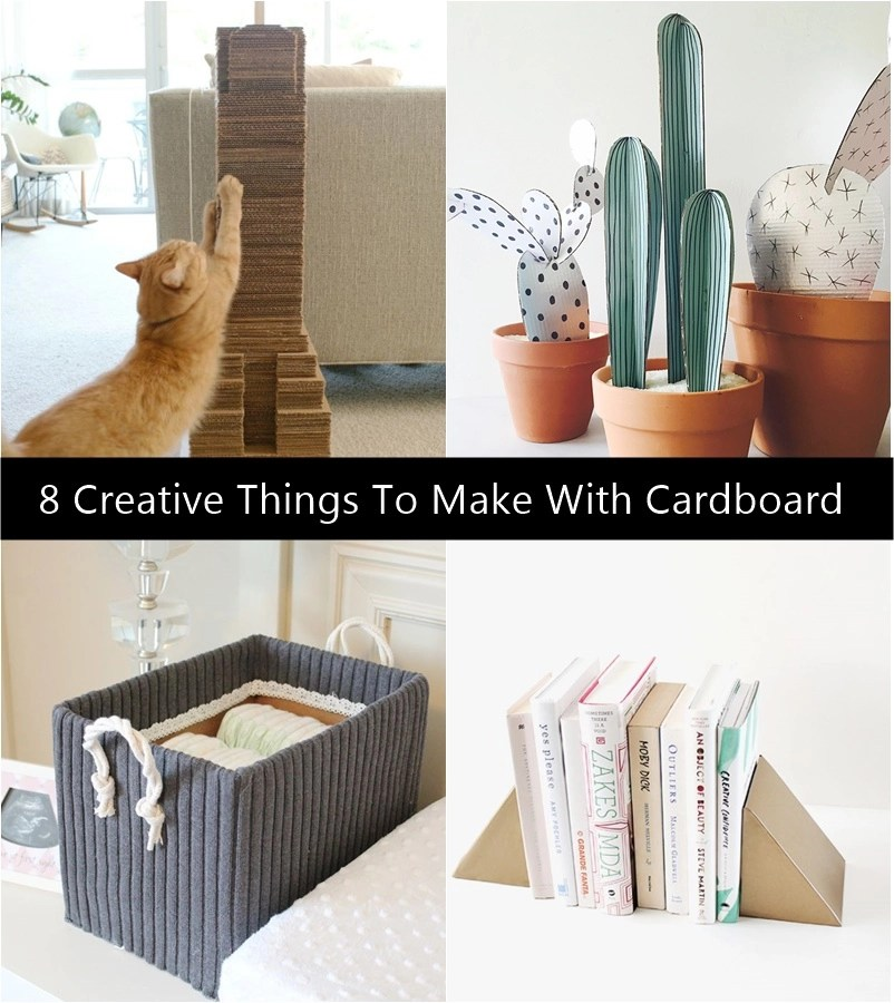 8 Creative Things To Make With Cardboard
