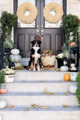 Awesome farmhouse fall decor porches 05