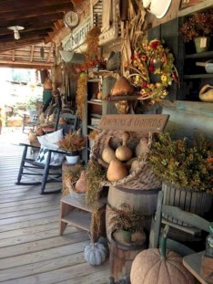 Awesome farmhouse fall decor porches 21