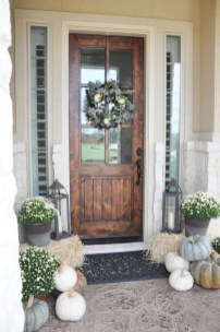 Awesome farmhouse fall decor porches 34