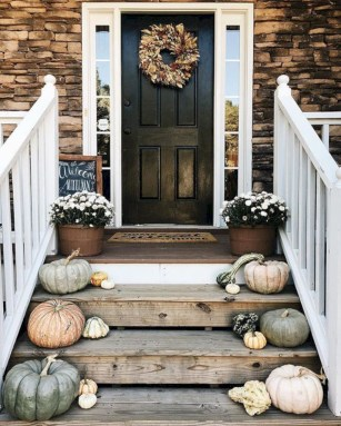 Awesome farmhouse fall decor porches 39