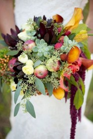 Beautiful and incredible fall succulent ideas 13