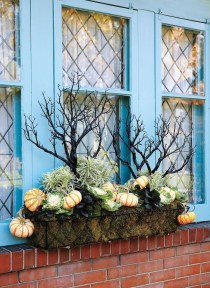 Cheap and easy fall window boxes ideas 02