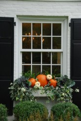 Cheap and easy fall window boxes ideas 35