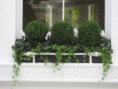 Cheap and easy fall window boxes ideas 38