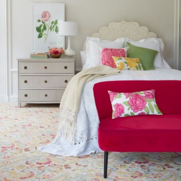 Creative bedroom decoration ideas for a new spring looks 15