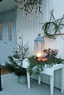 Cute farmhouse christmas decoration ideas 02
