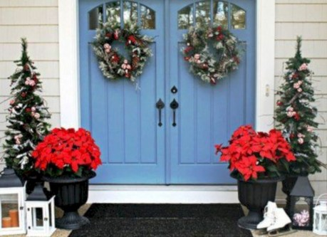 Cute farmhouse christmas decoration ideas 03