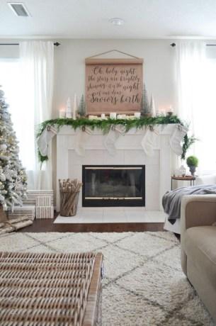 Cute farmhouse christmas decoration ideas 05
