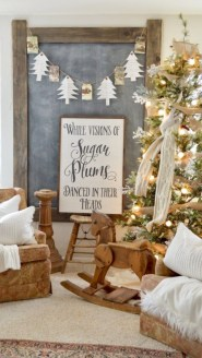 Cute farmhouse christmas decoration ideas 32