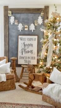 Cute farmhouse christmas decoration ideas 32