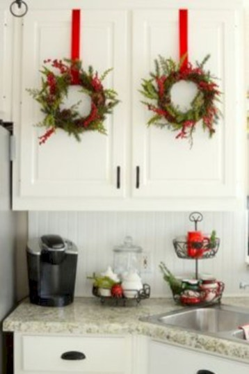 Cute farmhouse christmas decoration ideas 44