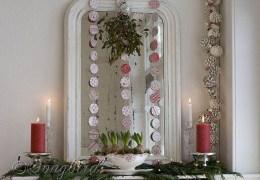 Cute farmhouse christmas decoration ideas 45