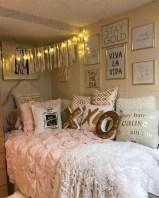 Easy and cute teen room decor ideas for girl 02