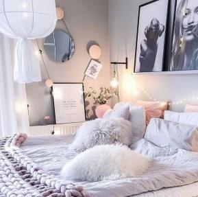 Easy and cute teen room decor ideas for girl 04