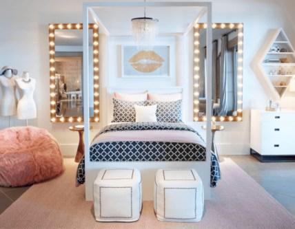 Easy and cute teen room decor ideas for girl 21