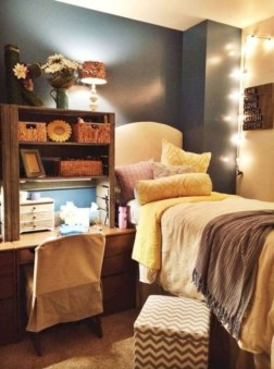 Elegant dorm room decorating ideas 16