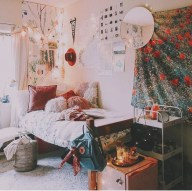 Elegant dorm room decorating ideas 18