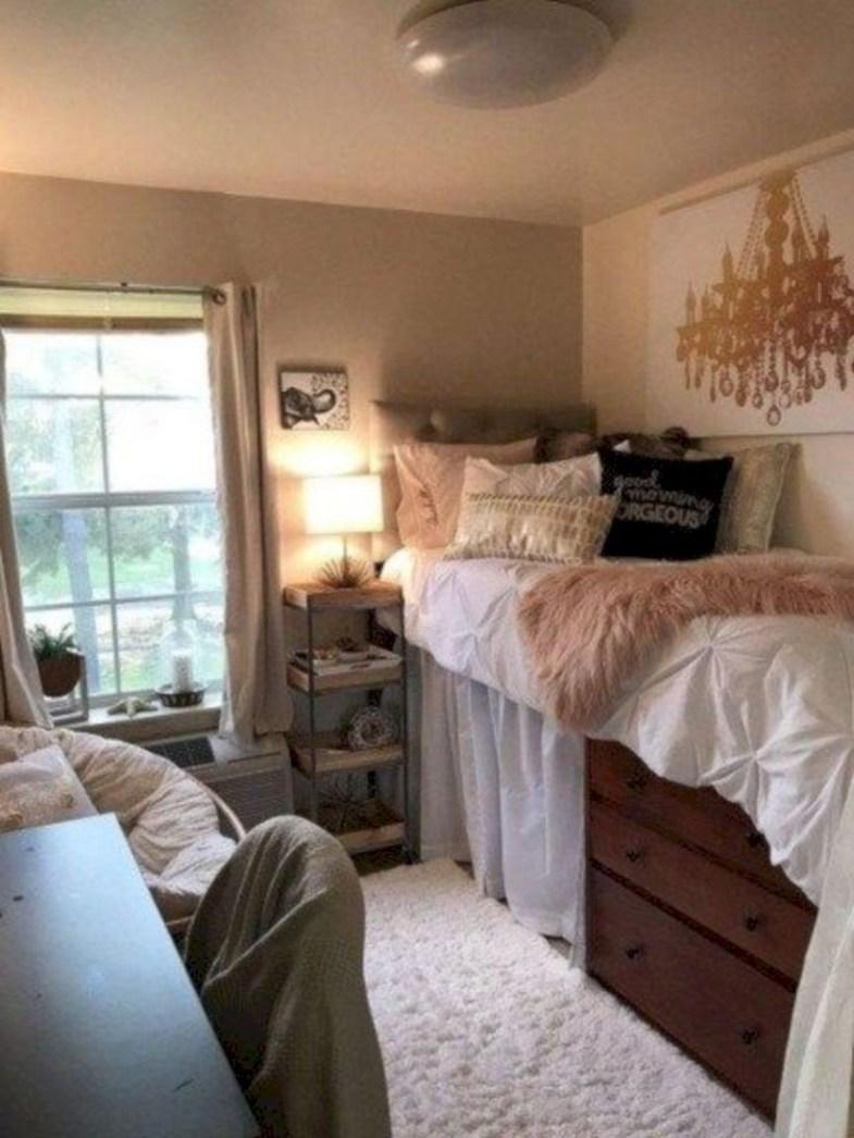 Elegant dorm room decorating ideas 49