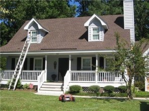 Exterior paint colors for house with brown roof 23