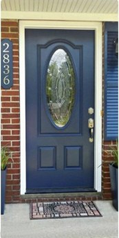Exterior paint colors with red brick 11