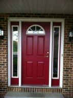 Exterior paint colors with red brick 37