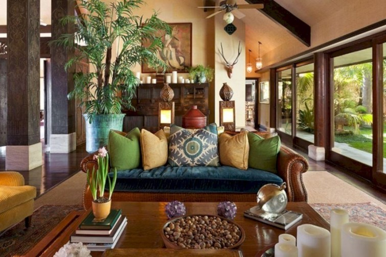 Gorgeous living room decor ideas 26
