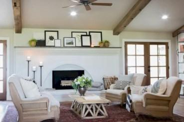 Incredible european farmhouse living room design ideas 11