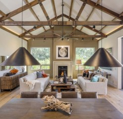 Incredible european farmhouse living room design ideas 44
