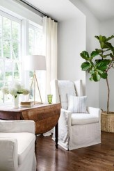 Incredible european farmhouse living room design ideas 86