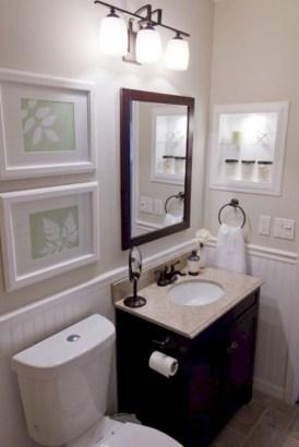 Incredible half bathroom decor ideas 115