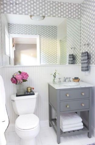 Incredible half bathroom decor ideas 21