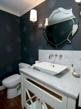 Incredible half bathroom decor ideas 23