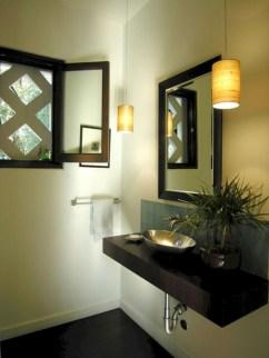 Incredible half bathroom decor ideas 45