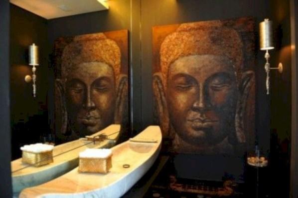 Incredible half bathroom decor ideas 98