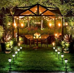 Inspiring backyard lighting ideas for summer 34